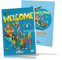 Welcome 1, Pupil's book + Workbook / Учебник + Тетрадь английского языка