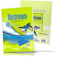 Upstream A2 Elementary, Student's book + Workbook / Учебник + Тетрадь английского языка