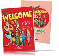Welcome 2, Pupil's book + Workbook / Учебник + Тетрадь английского языка