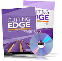 Cutting Edge Upper-Intermediate, Student's book + Workbook + DVD / Учебник + Тетрадь английского языка