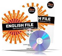 English File Upper-Intermediate, Student's book + Workbook + iTutorDVD + Key / Учебник + Тетрадь английского языка