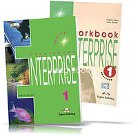 Enterprise 1 Beginner, Coursebook + Workbook / Учебник + Тетрадь английского языка