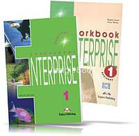 Enterprise 1 Beginner, Coursebook + Workbook / Учебник + Тетрадь английского языка
