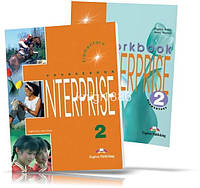 Enterprise 2 Elementary, Coursebook + Workbook / Учебник + Тетрадь английского языка