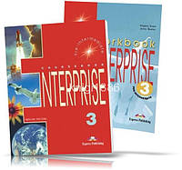 Enterprise 3 Pre-Intermediate, Coursebook + Workbook / Учебник + Тетрадь английского языка