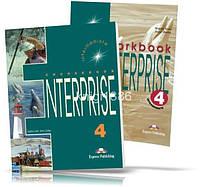 Enterprise 4 Intermediate, Coursebook + Workbook / Учебник + Тетрадь английского языка