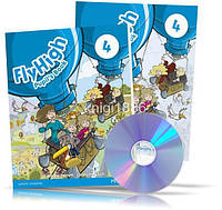 Fly High 4, Pupil's book + Activity Book + CDs / Учебник + Тетрадь английского языка