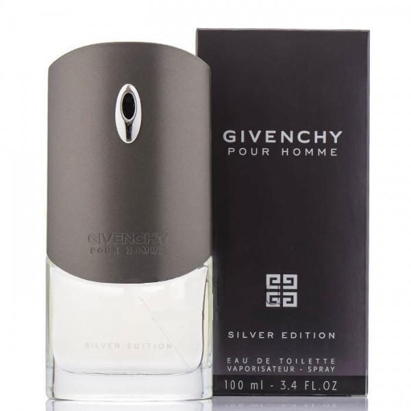 Чоловіча туалетна вода Gvenchy Silver Edition, 100 мл(прим'ята упаковка)