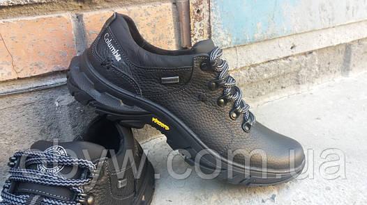 Кожаные польские мужские туфли