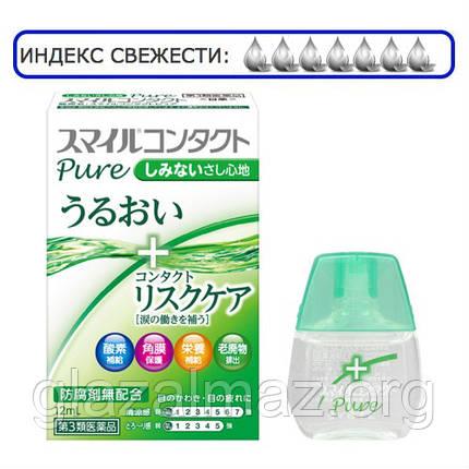 Lion Smile Contact Pure - глазные капли с таурином для нежного ухода за глазами с контактными линзами, фото 2