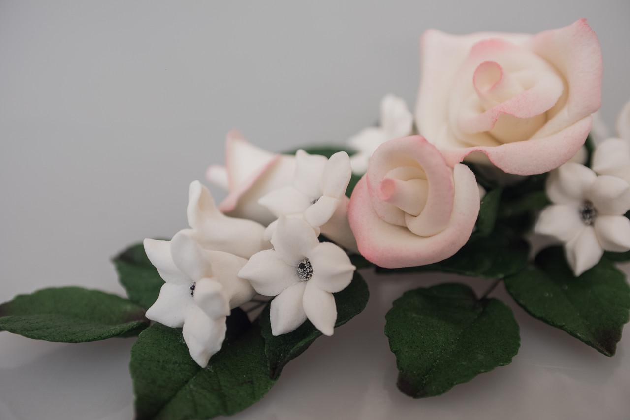 Декор кондитерський Добрик Букет троянд із дзвіночками