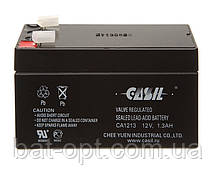 Аккумулятор свинцовый Casil 12V-1,3Ah CA 1213