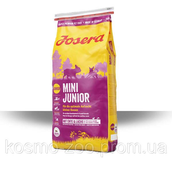 Сухой корм Йозера Мини для щенков малых пород (Josera Mini Junior), 15 кг