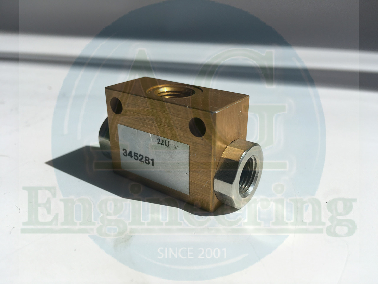 "Клапан 1/8"" Camozzi SCS 668-06 ODER-Glied, 345281"