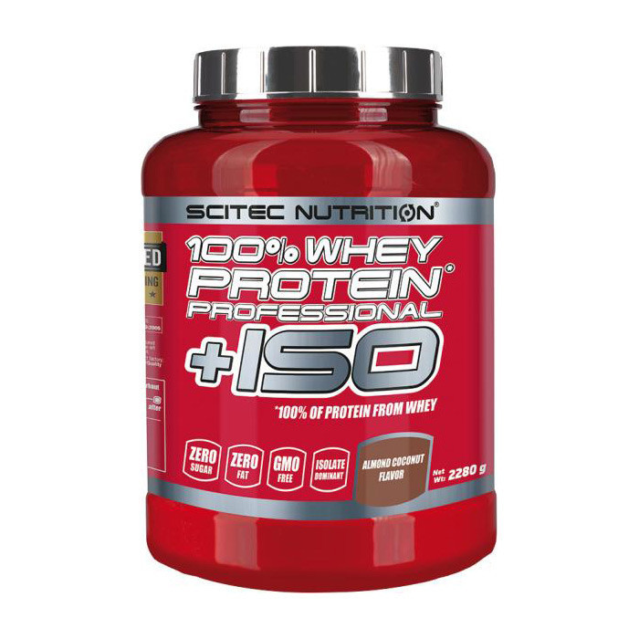 SN 100% Whey Protein Prof.+ ISO 2280 г - strawberry