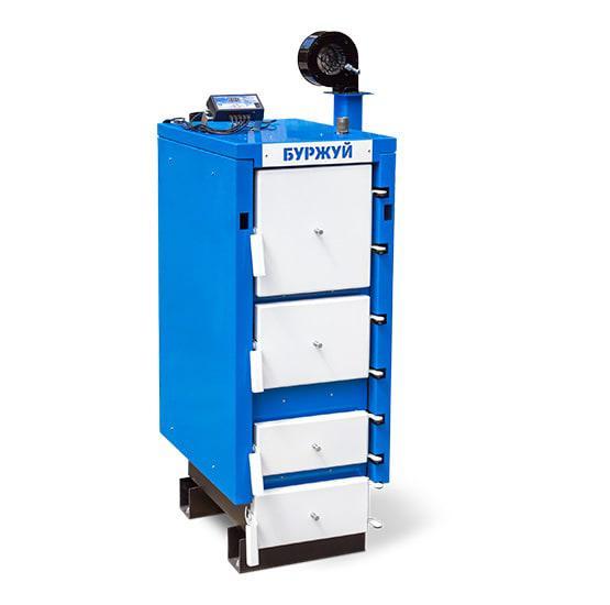 Буржуй Делюкс ДГ-24 кВт - котел длительного горения для помещения до 240 м.кв.