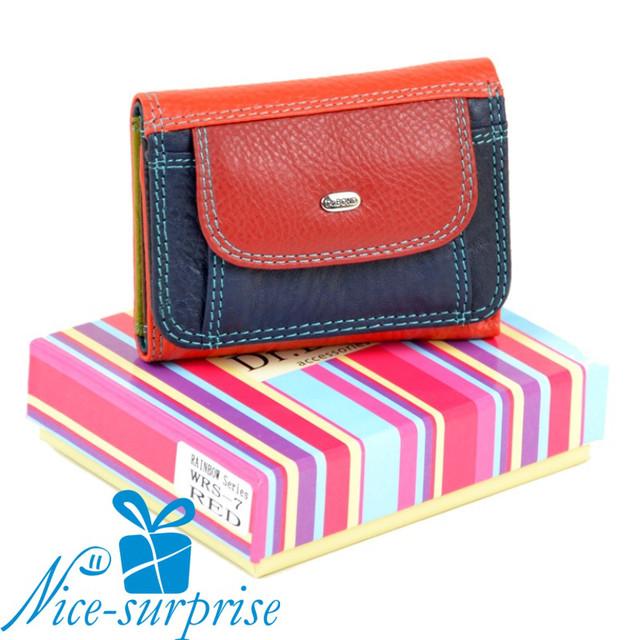 купить женский маленький кожаный кошелёк в Харькове