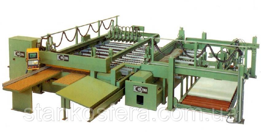 Угловой пильный центр Holzma HFL 02/41/22 Fixomat для автоматического раскроя ДСП бу 1989 гв