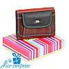 Женский маленький кожаный кошелёк Dr. Bond WRS-7 black (серия Rainbow)