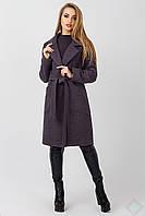 Пальто осеннее женское Кипр, темно серый, фото 1