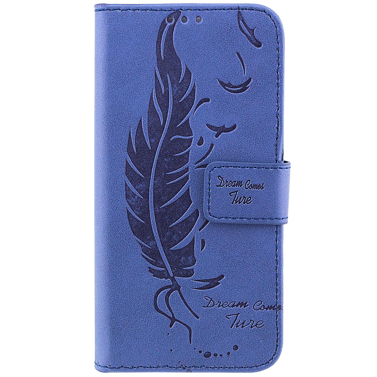 Чехол-книжка Edin Feather c TPU креплением для Samsung J510F Galaxy J5 (2016)