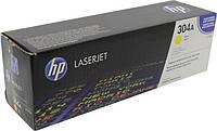 Заправка картриджа HP 304A yellow CC532A для принтера LJ CM2320nf, CM2320fxi, CP2025dn, CP2025n в Киеве