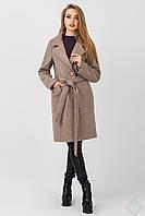 Пальто осеннее женское Кипр, мокко, фото 1