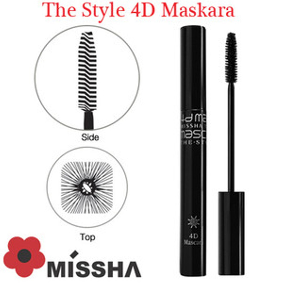 Тушь для ресниц Missha The Style 4D Mascara