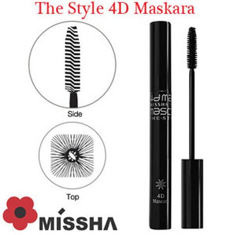 Тушь для ресниц Missha The Style 4D Mascara, фото 2
