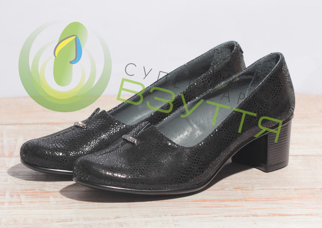 Туфли кожаные женские арт. 40-241 36,39 размеры