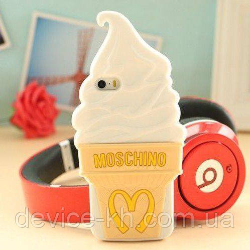 Чехол Moschino ice cream для iPhone 6/6s