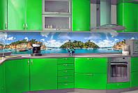 Кухонный фартук Природа (ПВХ пленка самоклеющаяся скинали для кухни) 600*2500 мм