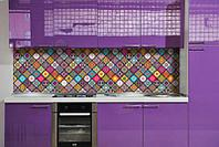 Кухонный фартук Уют (ПВХ пленка самоклеющаяся скинали для кухни) 600*2500 мм