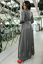 К702 Вечернее платье в пол (размеры 44-52), фото 2
