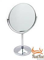 Настольное косметическое зеркало двухстороннее