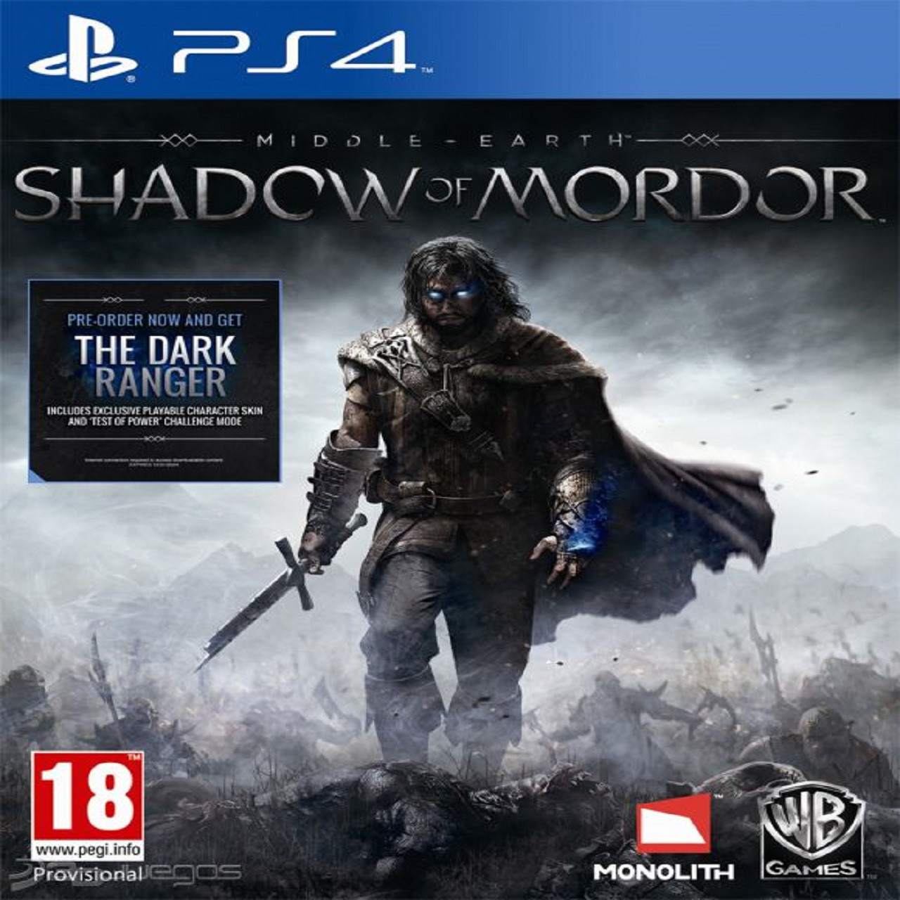 Middle-earth: Shadow of Mordor RUS PS4 (Б/В)
