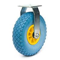 Колесо проколобезопасное с неповоротным кронштейном 260 мм (Китай)