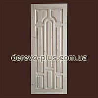 Двері з масиву дерева 80см (глухі) f_1280  в