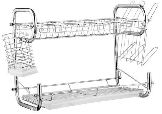 Двух ярусная сушилка для посуды Edenberg EB-2108