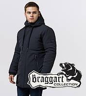 Модная парка мужская Braggart Black Diamond - 9085 графит
