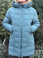 Зимняя куртка женская Fine Baby Cat, мята