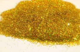 Голограф. 1 Блеск золото, 0,4 мм