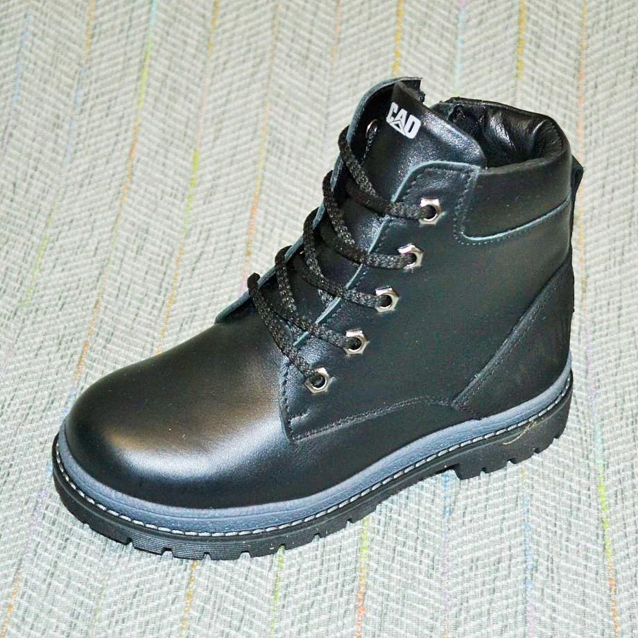Зимние кожаные ботиночки, Zkids размер 31-38