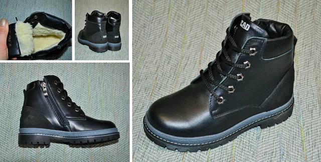 зимние кожаные ботиночки Z-kids фото