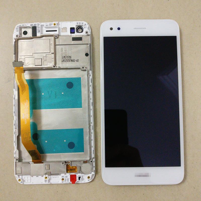 Дисплей для Huawei Nova Lite (2017) SLA-L22/Y6 Pro 2017 с тачскрином и рамкой белый Оригинал