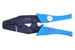 Пресс-клещи механические HS-06WF2C для обжима наконечников и гильз 0,5-6,0 мм², АСКО-УКРЕМ