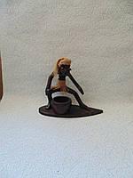 Пепельница деревянная Серфингист, фото 1