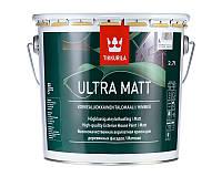Краска латексная TIKKURILA ULTRA MAT для деревянных фасадов база А 2,7л