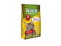Сухой корм для кошек Муся Курица 10 кг