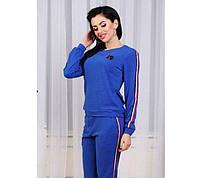 Удобный женский спортивный костюм в расцветках., фото 1